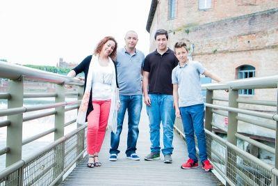 Johanna, photographe Portrait Famille à Toulouse